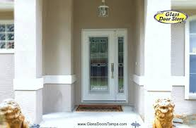 Patio Doors With Sidelights That Open Fiberglass Doors Glass Doors Interior Doors The Glass Door Store Tampa