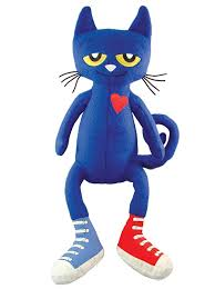 Pete The Cat Clothing Amazon Com Merrymakers Pete The Cat Plush Doll 14 5 Inch