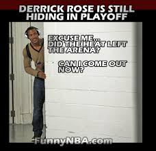 Derrick Rose Jersey Meme - derrick rose return heat vs bulls 2013 playoff nba funny moments