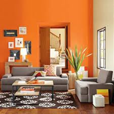 Orange Living Room Decor Livingroom Orange Living Room Wall Decor Painted Walls Light In