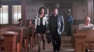 marisa tomei my cousin vinny jumpsuit my cousin vinny filmed in ralph macchio and