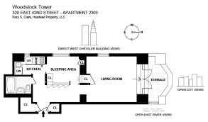 chrysler building floor plans woodstock tower 2309