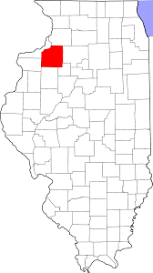 Map Of Cities In Illinois by National Register Of Historic Places Listings In Henry County
