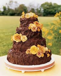 How Decorate Cake At Home Brown Wedding Cakes Martha Stewart Weddings