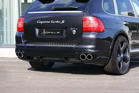 Porsche Cayenne Occasion - hofele design refines the old cayenne 955 into a real 957