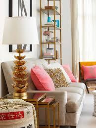 gold coral u0026 cream living room home decor ideas gypsy soul
