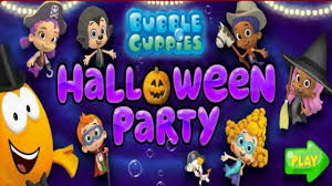 bubble guppies halloween party game episode baby games video