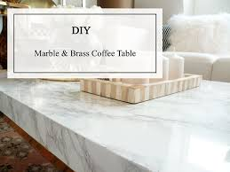 Marble Coffee Table Top Diy Marble Coffee Table A Glamorous Alternative Coffe Table