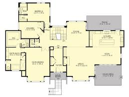 thehousedesigners house plan allegro 5550 5 bedrooms and 3 baths the house