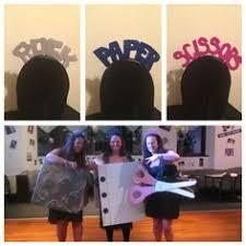 Rock Paper Scissors Halloween Costume Halloween Costume Rock Paper Scissors Party Ideas