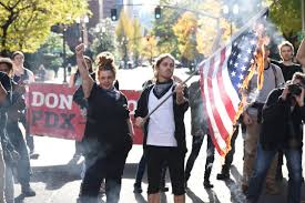 Flag Burning Legal As Donald Trump Becomes President Portland U0027s Streets Will Be