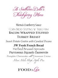 thanksgiving 64 traditional southern thanksgiving dinner menu