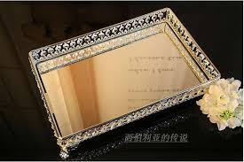 39 26cm rectangle decorative crystal tray serving tray glass fruit