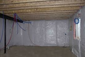 Insulation R Value For Basement Walls by Basement Insulation Wall