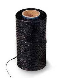 black lashing cord with wax coating gardeners com