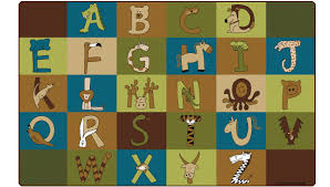 a to z animals nature carpets for kids