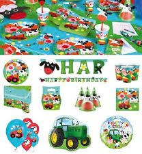 Barn Animal Party Supplies Animals Party Sets And Kits Ebay