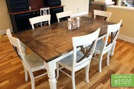 white farmhouse table black chairs white farmhouse table and chairs farmhouse table white farm table