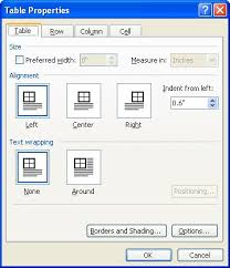Table Cell Spacing Changing Spacing Between Table Cells Microsoft Word