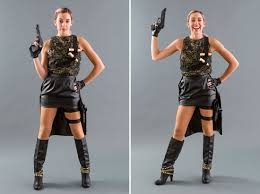 how to diy taylor swift u0027s badass bad blood group costumes brit co