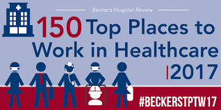 52 Places To Go In 2017 by 150 Top Places To Work In Healthcare 2017