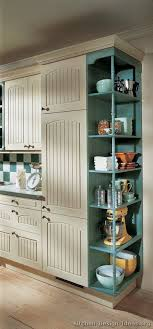 kitchen cabinet end caps traditional two tone kitchen cabinets 05 alno com kitchen design