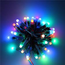 String Of Led Lights by Programmable Led String Lights Outdoor Lights Pinterest