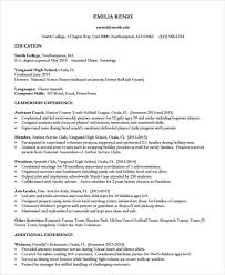 Resume For Anchor Job by 48 Resume Formats Free U0026 Premium Templates