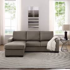 Sectional With Chaise Lounge Furniture Reversible Chaise Sectional Sectional Sofa Walmart