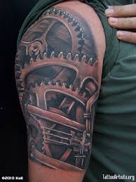 49 best mechanical sleeve tattoo designs images on pinterest