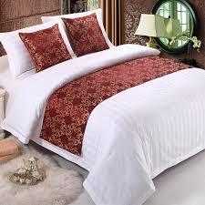 nice bed runner from cotton tips for choosing best bed runner