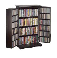 Oak Dvd Storage Cabinet Leslie Dame Cd Dvd Storage Cabinet Wood Dvd Storage Cabinet