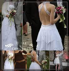 two in one ruffled wedding dresses tulle u0026 chantilly wedding blog