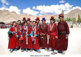 ladakh clothing ladakhi men stock photos ladakhi men stock images alamy