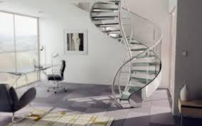 Modern Glass Stairs Design Interior Archaic Modern Home Interior Design And Decoration Using