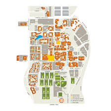 Dallas Map by Campus Map The University Of Texas At Dallas