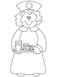 nursing supplies colouring pages printable doc