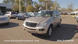 2006 mercedes ml350 4matic autoline preowned 2006 mercedes ml350 4matic for sale used