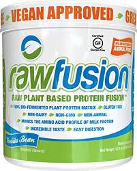 san rawfusion san nutrition rawfusion plant protein powder vanilla