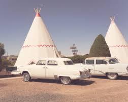 Classic Motel Route 66 Wigwam Motel Arizona Vintage Cars Cozy Cone