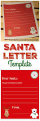 dear santa letter template free best 25 santa letter template ideas only on pinterest free santa letter template printable
