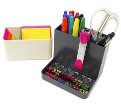 amazon com stylio desk organizer desktop caddy pencil holder