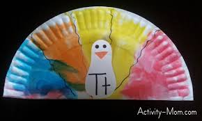 the activity mom paper plate alphabet craft t is for turkey