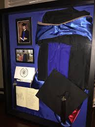 graduation shadow box cap and gown best 25 graduation shadow boxes ideas on college grad