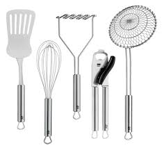 wmf profi plus stainless steel kitchen set 5 piece cutlery and more