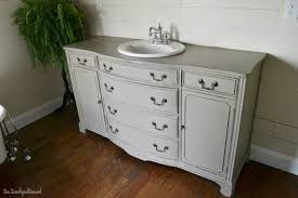 Repurposed Furniture For Bathroom Vanity Repurposed Bathroom Vanity Cabinet Ideas Desk To Dresser