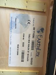 earthlite avalon 30 massage table portable earthlite avalon black vinyl massage table for sale