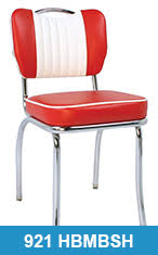 Retro Red Kitchen Chairs - retro chairs vintage kitchen retro chairs for sale