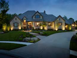 raleigh outdoor lighting transforms your home at night