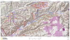 Boston Bike Map by Los Penasquitos Canyon And Del Mar Mesa